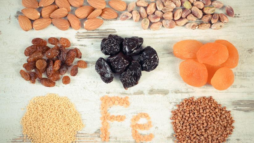mancanza di ferro nella dieta del sangue