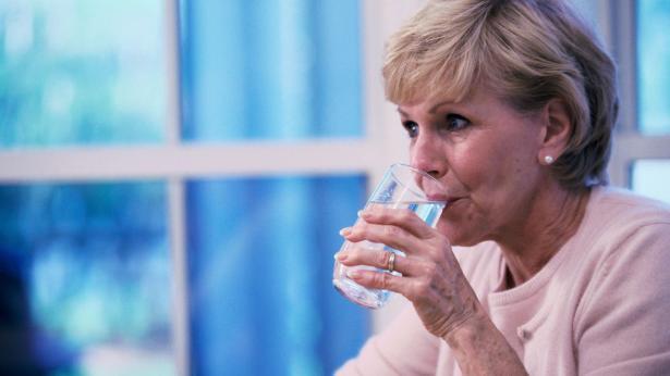 Forti e sani grazie a un bicchier d'acqua
