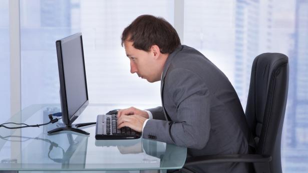Mal d'ufficio: la cattiva postura