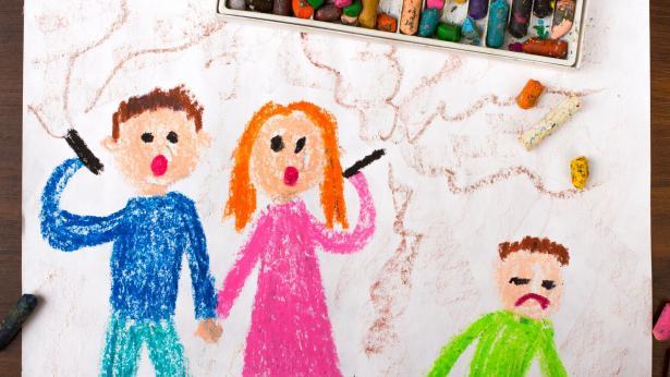 I rischi del fumo passivo per i bambini