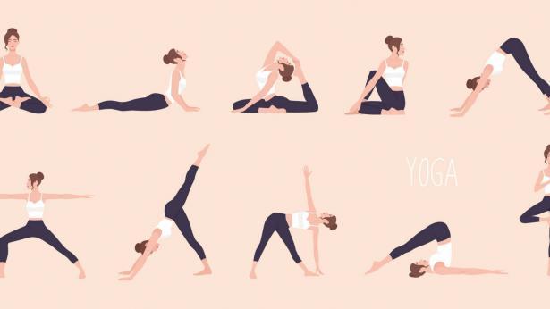 Le posizioni dello Hatha Yoga e le Âsana