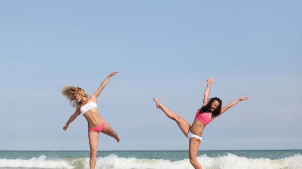 Playagym: come fare ginnastica in spiaggia