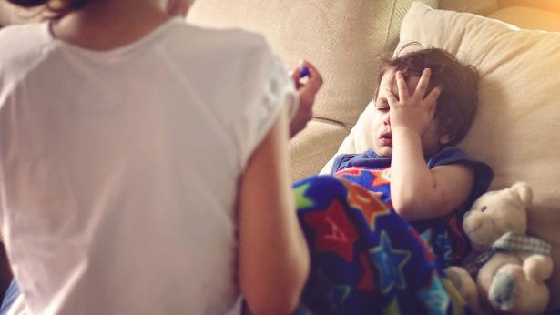 Cosa fare in caso di febbre alta nei bambini