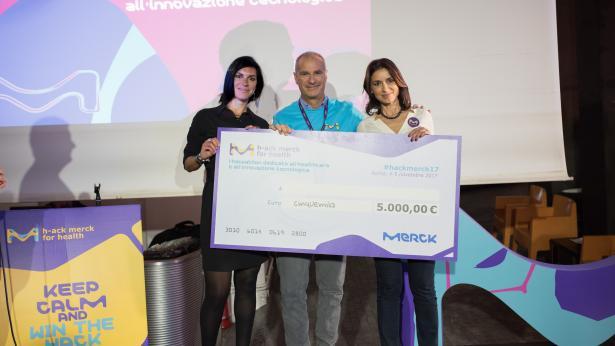Annunciati i vincitori della seconda edizione dell'hackathon Merck for health