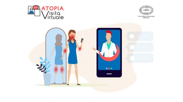 Atopia Visita Virtuale, al via il video consulto gratuito per le persone con dermatite atopica