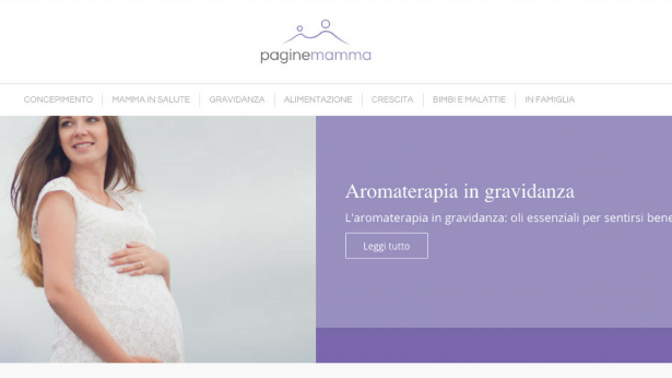 È online Paginemamma, il nuovo blog sulla salute di mamma e bambino