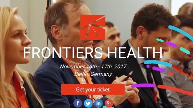 Frontiers Health 2017: guarda il programma dell'evento sulla digital health