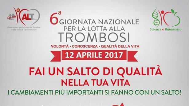 Prevenzione delle malattie provocate dalla trombosi: la Giornata Nazionale