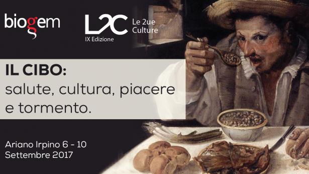 """IX edizione del Meeting """"Le Due Culture"""": cibo, salute e cultura il tema di questa edizione"""
