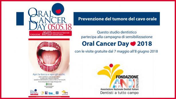 Visite gratuite contro il tumore del cavo orale