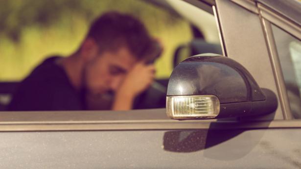 Rischio di incidente stradale per chi dorme meno di 7 ore